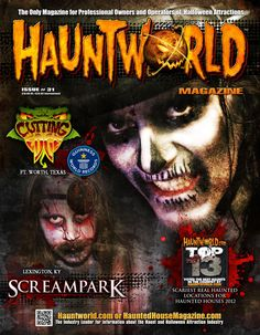 Find the biggest, best and Scariest Haunted Houses NEAR YOU! Find Corn Mazes, Pumpkin Patches, Hayrides, Escape Games, Zombie Runs and Haunted Attractions at www.Hauntworld.com