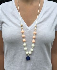"""The """"Rebecca"""" Necklace in Natural"""