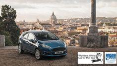La nouvelle Fiesta 1.0l EcoBoost élue Voiture Féminine de l'Année !