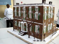 All sizes | Giant gingerbread house | Flickr - Photo Sharing!