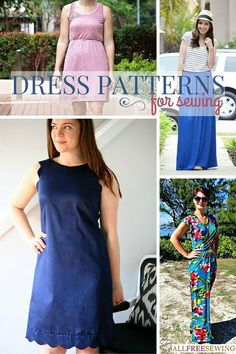 Learn how to sew a dress with 75+ Dress Patterns for Sewing. You'll find free little girl dress patterns, free pillow case dress patterns, and other simple dress patterns in this stylish sewing collection.