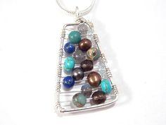 Semi+Precious+Stone+Pendant+Wire+Wrapped+by+FleurDeLeeDesign,+$40.00