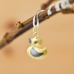 Duck Pendant, Duck Necklace, Duck Jewelry, Duck Charm, 925 Sterling Silver, Bridesmaid Gift, Best Friend Gift,  Gift for her by JubileJewel on Etsy
