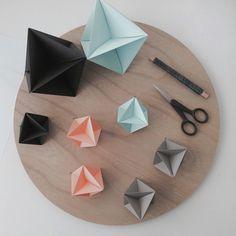 DIY Geometriske ophæng til boligen - Starfolds.dk