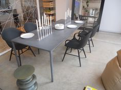 Boiacca table  http://www.kristalia.it/eng/residential/prodotti.php?area=tavoli=162 +  Elephant chair on wooden base http://www.kristalia.it/eng/residential/prodotti.php?area=sedute=151 #boiacca #elephant #interiordesign #chair #table