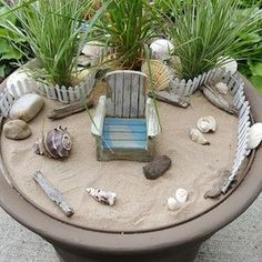 Get crafty this summer and make your own whimsical fairy garden with these creative DIY fairy garden ideas as inspiration. Since it's such a fun and easy activity, it makes a great summer craft idea to do with your kids over the break. There are fairy garden ideas for containers, the yard, and indoors. Plus, …