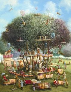 Painting by Remigijus Januskevicius (Lithuania) Oil On Canvas, Canvas Prints, Art Original, Oeuvre D'art, Contemporary Artists, Les Oeuvres, Surrealism, Illustration Art, Illustrations