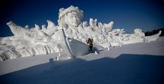 snow | Harbin International Ice and Snow Festival 2013 - The Big Picture ...