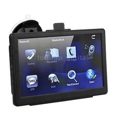 awesome 7 HD Car GPS Navigation Navigator 128MB 4GB With FM Bluetooth Touch Screen 44N9 - For Sale Check more at http://shipperscentral.com/wp/product/7-hd-car-gps-navigation-navigator-128mb-4gb-with-fm-bluetooth-touch-screen-44n9-for-sale/