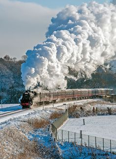 - The Next-Gen Social Network Steam Trains Uk, Old Steam Train, Scenery Pictures, Train Pictures, Train Truck, Train Rides, Railroad Photography, Train Art, Old Trains