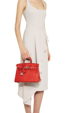 Hermes 25Cm Rouge Pivone Swift Leather Birkin by Heritage Auctions Special Collection for Preorder on Moda Operandi