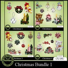Christmas bundle 1 Elements (CU)