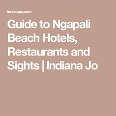 Guide to Ngapali Beach Hotels, Restaurants and Sights | Indiana Jo