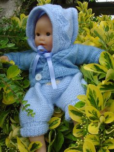 Vêtements pour poupée au tricot - Brico-line