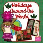 Holidays Around the World - Interactive Notebook and Lapbook; $ Christmas Around the World  Welcome to Sweet Integrations.  This holiday unit can be i...