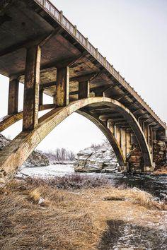 Trans Canadian Highway Bridge in Southern Alberta...www.facebook.com/loveswish