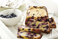 Lekker en gezond: Yoghurtcake met bosbessen