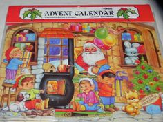 ADVENT CALENDAR Calendrier De L'Avent by baublesandblingforu, $1.49