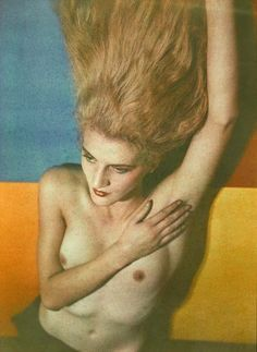 Jacqueline Goddard.      Man Ray 1932.[autochrome and lumichrome print]