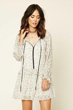 Contemporary Ruffled Dress