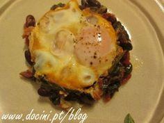 Ovos à Marroquina com Chouriço