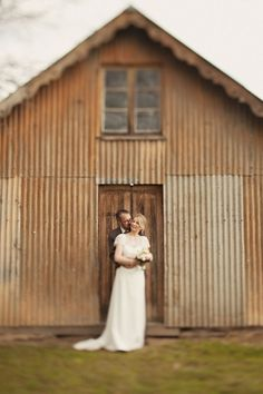 Wedding dress by Karen Willis Holmes {The 'Emily' lace blouse} #karenwillisholme #weddingdress