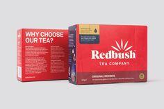 Redbush Tea #branding by Believe In