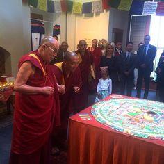 His Holiness the Dalai Lama. 14th Dalai Lama, Buddhist Monk, Mandala, Image, Mandalas, Coloring Pages Mandala