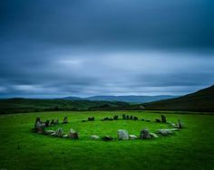 Swinside Stone Circle: Hallthwaites, England. Also called Sunkenkirk. Photography by Duncan Fawkes
