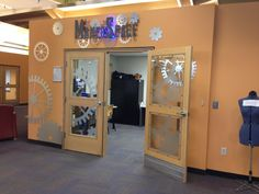 Example of possible MakerSpace in redesigned Grant Library
