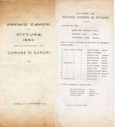1960  Catalogo Mostra Premio Cameri