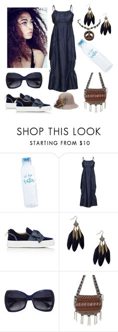 """Festival Weekend"" by ohitsjanedoe ❤ liked on Polyvore featuring Crea Concept, BUSCEMI, Fendi and NOVICA"