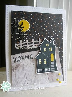 Halloween Scenes and Spooky Fun | Stampin' Seasons: A Night Out.......FMS250