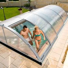 Swimming Pool Enclosures, Diy Swimming Pool, Amazing Swimming Pools, Backyard Camping, Backyard Seating, Pool Warmer, Shipping Container Swimming Pool, Kleiner Pool Design, Outside Pool