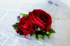 SUMMER RED by Ria2 on Etsy