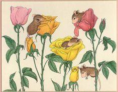 Забавные мышки от Ellen Jareckie