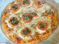 Pizza mozzarella à la provençale