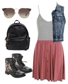 """""""OOTD"""" by zayngirl27 ❤ liked on Polyvore featuring Dsquared2, Topshop, Boohoo, maurices and Linda Farrow"""