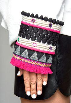 Embroidery Fashion, Diy Embroidery, Embroidery Designs, Ethnic Fashion, Diy Fashion, Fashion Design, Traditional Fabric, Mini Vestidos, Tulle Fabric