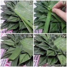This Photo was uploaded by Diy Diwali Decorations, Flower Decorations, Banana Leaf Plates, Banana Leaves, Diy Flowers, Paper Flowers, Woolen Flower, How To Make Garland, Asian Crafts
