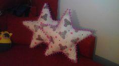 polštářky hvězda