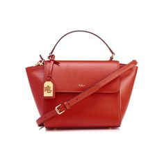 Ralph Lauren Women's Barclay Cross Body Bag - Cayenne
