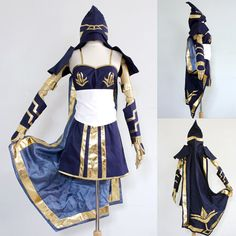 League of Legends LOL Ashe Cosplay Costume