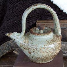 Teapot by artist John Glick at Plum Tree Pottery
