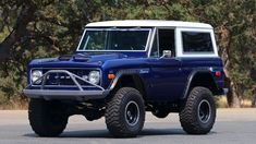 Old Bronco, Classic Bronco, Bronco Sports, Vintage Air, Aluminum Radiator, Fuel Injection, Ford Trucks, Broncos, Offroad