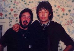 An Unmasked Peter Criss & Ace Frehley - 1981