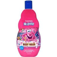 Mr.Bubble Body Wash 16 oz. Original (Pack of 6) by Mr. Bubble. $28.19. Makes Getting Clean Almost As Much Fun As Getting Dirty! In the shower or bath, create big bubbles and a rich lather with Mr. Moisturizes with aloe & shea butter. Tear-free & hypo-allergenic. Pediatrician & dermatologist tested. Makes getting clean almost as much fun as getting dirty! In the shower or bath, create big bubbles and a rich lather with Mr. Bubble body wash! Our gentle formula is tear-free, hypo-al...