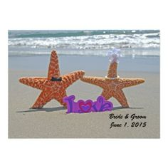 >>>The best place          Starfish Bride and Groom Wedding Invitation           Starfish Bride and Groom Wedding Invitation in each seller & make purchase online for cheap. Choose the best price and best promotion as you thing Secure Checkout you can trust Buy bestDiscount Deals          S...Cleck Hot Deals >>> http://www.zazzle.com/starfish_bride_and_groom_wedding_invitation-161145138937245048?rf=238627982471231924&zbar=1&tc=terrest