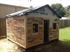 Pallet Wood Outdoor House