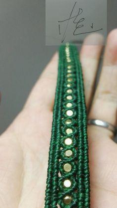 魅力手绳?铆钉手链? 手表链?(4月22日) 第1步